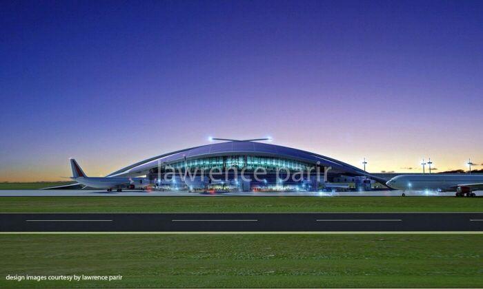 Design concept of an Airport for Kuantan Airport. Kuantan Malaysia.