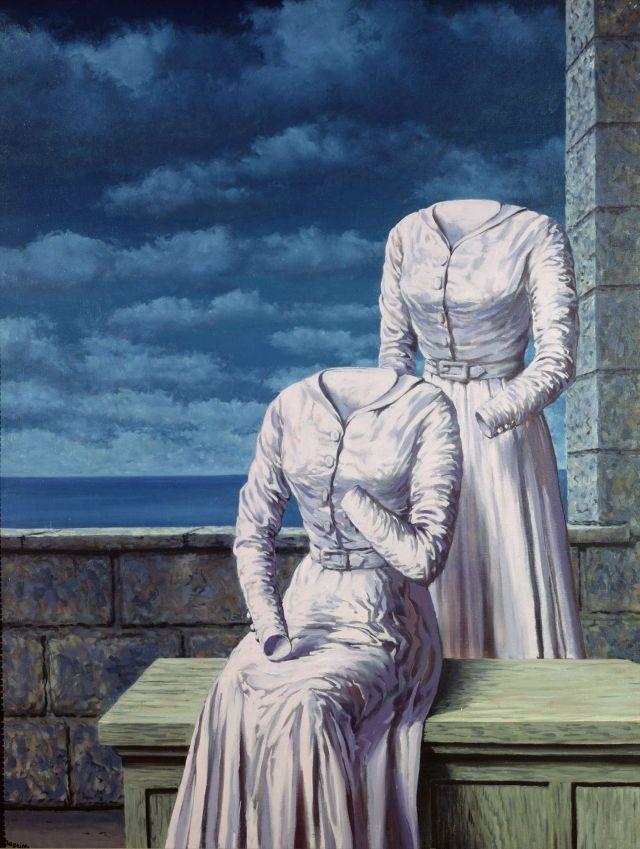 René Magritte , Les cornes du More Pins Like This At FOSTERGINGER @ Pinterest