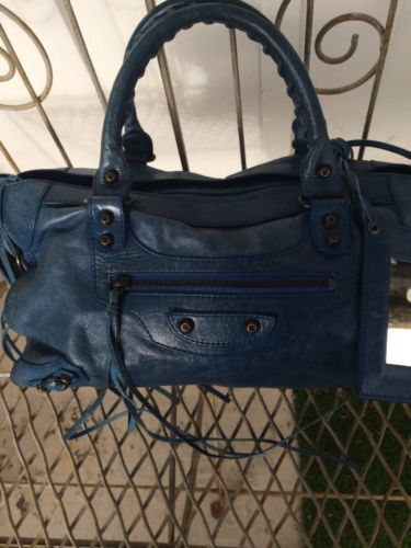fee0c0bb11a Details about Authentic Balenciaga First Classic City Bag Rare Sage ...