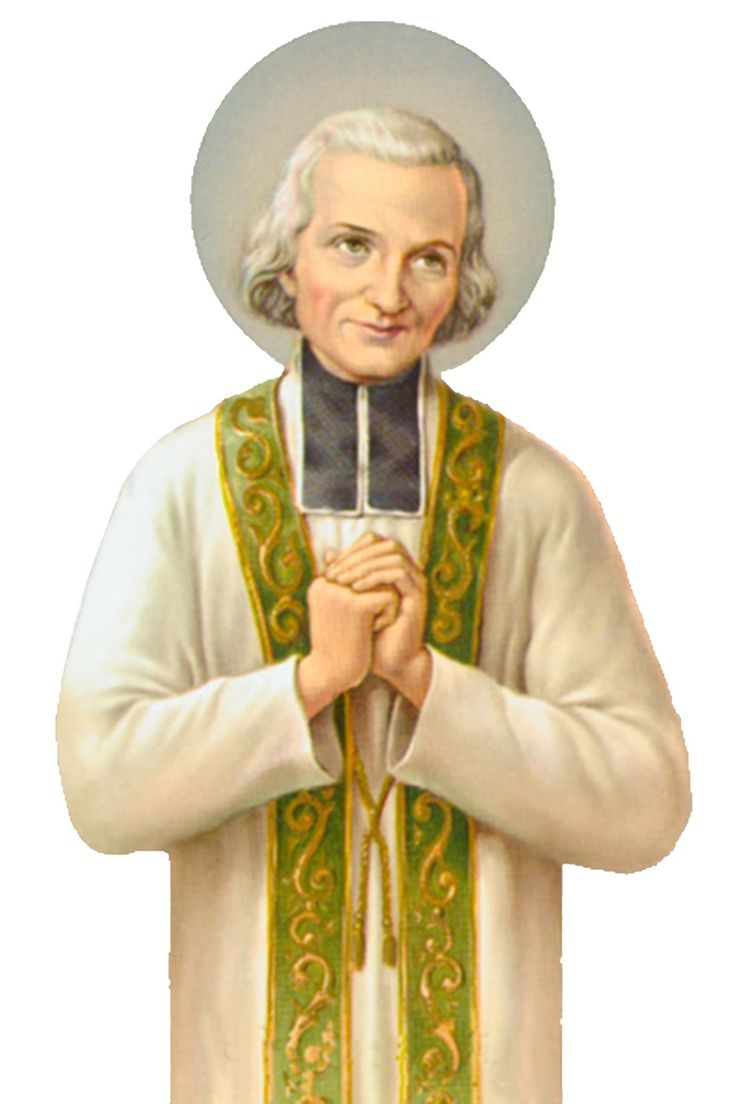 Happy feast day of st john vianney the cure of ars august 4