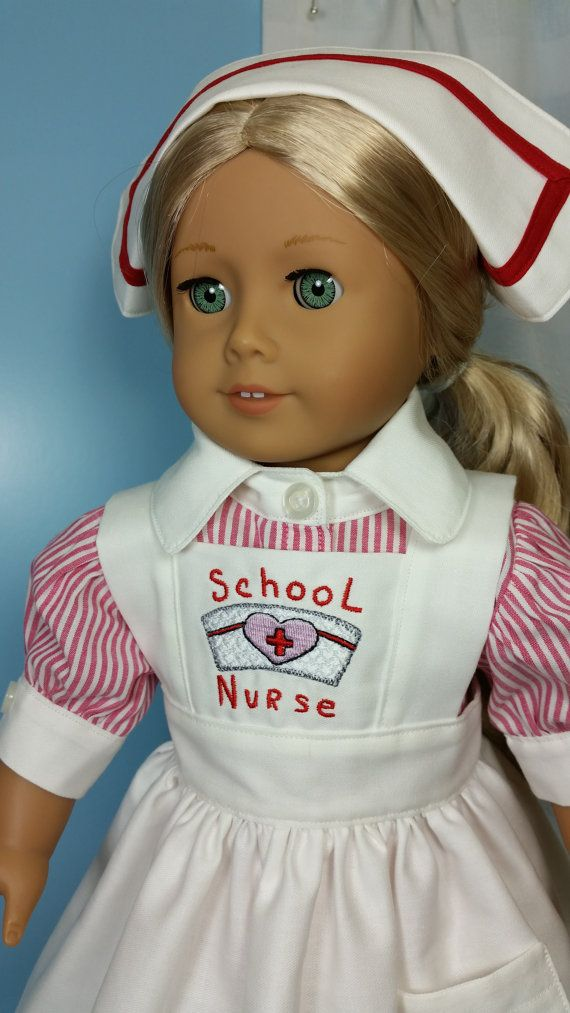 Nurse Outfit - Doll Clothes by Shirley - Shirley Fomby SOLD