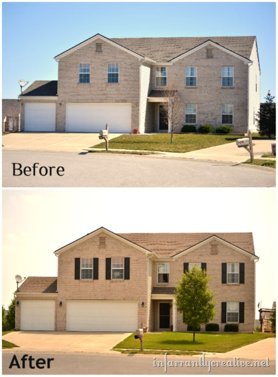 302 Best Images About Front Facade Kerb Appeal On Pinterest: 17 Best Images About Curb Appeal And Other Home Before & Afters On Pinterest