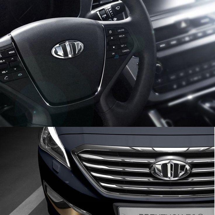 BRENTHON Horn Cap Front & Rear New Emblems 3 pcs for Hyundai Sonata LF 2014 #BRENTHON