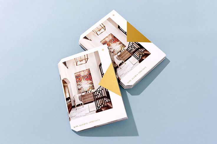 Kim Scodro Interiors Mini Brochure and Business Cards