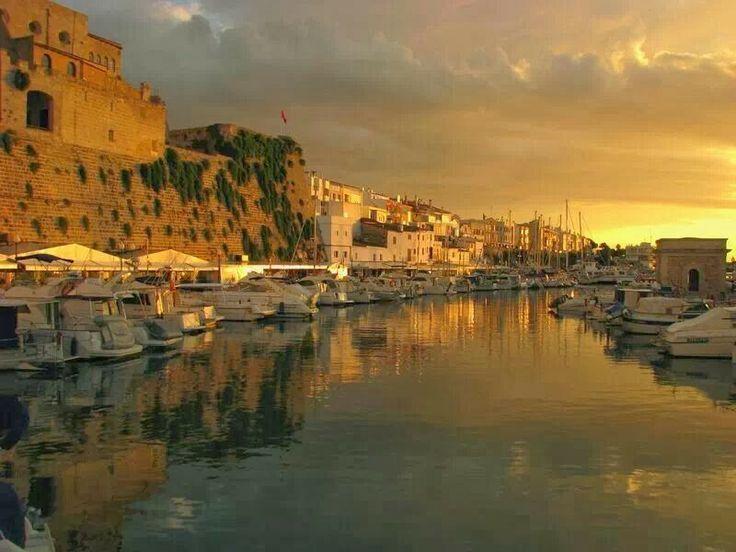 Port vell de Ciutadella de Menorca