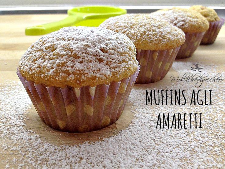 Muffins agli amaretti