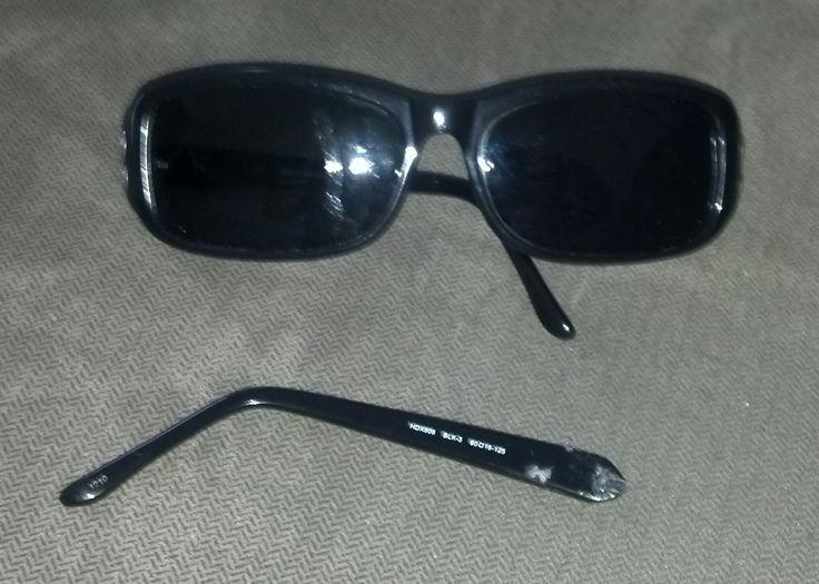 Rimless Glasses Broken : Image of Broken Harley Davidson Sunglasses Before Repair ...