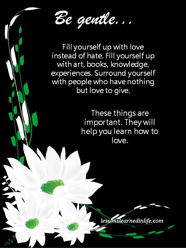 how to fill yourself with love