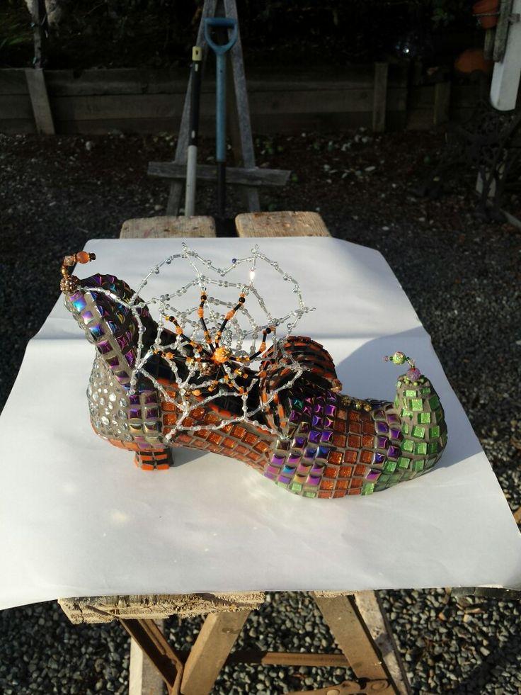 Witchpoo shoe mosaic