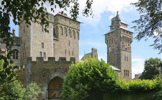 Castelo de Cardiff, País de Gales