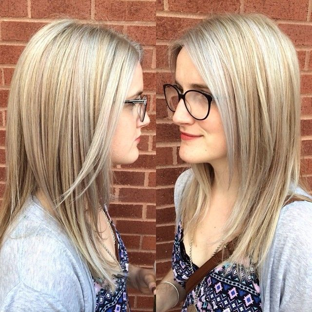 16 best highlights images on pinterest hair and makeup hair get silver blonde hair by adding pastel blue and lavender highlights by taylor nick at pmusecretfo Gallery