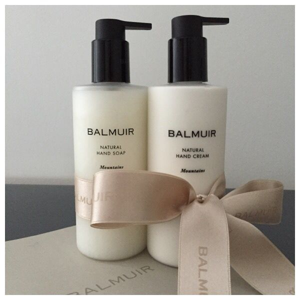 Luxury for everyday use: Mountains Hand Soap & Hand Cream | Balmuir