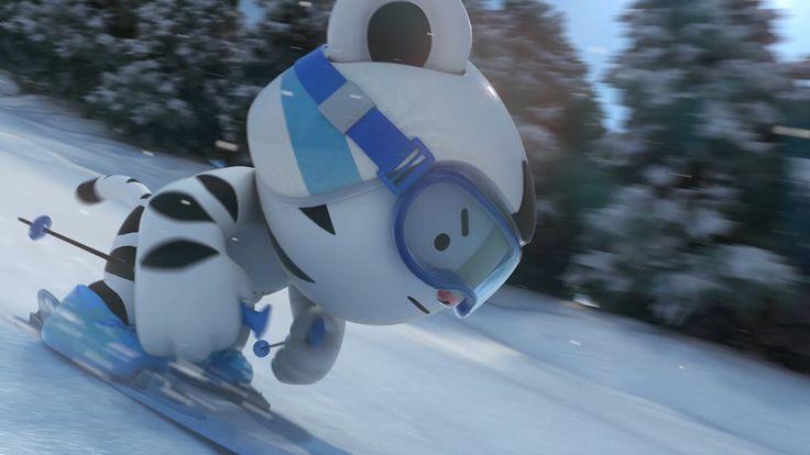 PyeongChang 2018 Mascot Animation