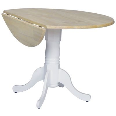 Dual Drop Leaf Round Wood-Top Dining Table - JCPenney ...