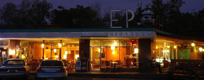 """Epoch. Open 24 hours a day, weird music, and almost too good coffee. You haven't learned the meaning of """"Keep Austin Weird"""" until you've been here. The most productive studying of my life though."""