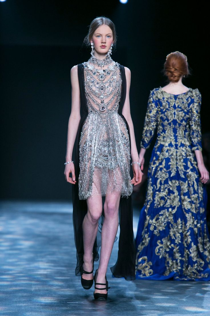 Marchesa Fall 2016 Keren Craig and Georgina Chapman present their latest looks.