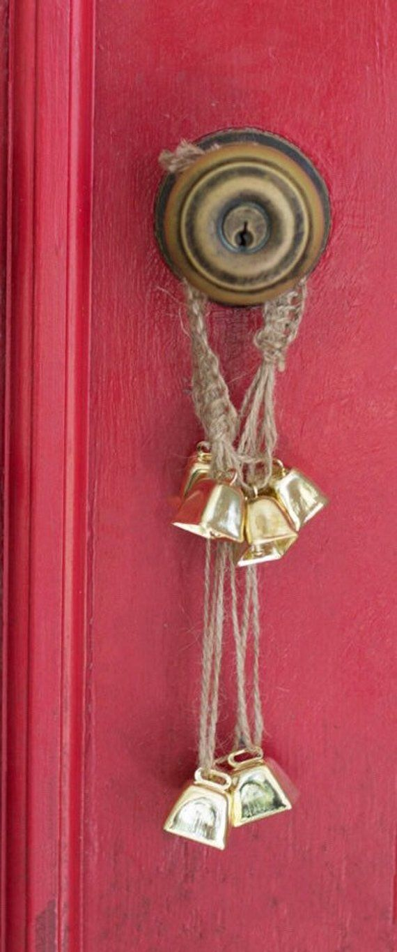 Witches Bells, Door Protection Charm, Wicca Decor, Witch Protection