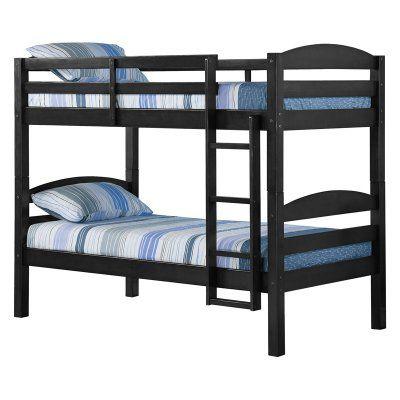 Walker Edison Solid Wood Bunk Bed - HNWSTOTBL