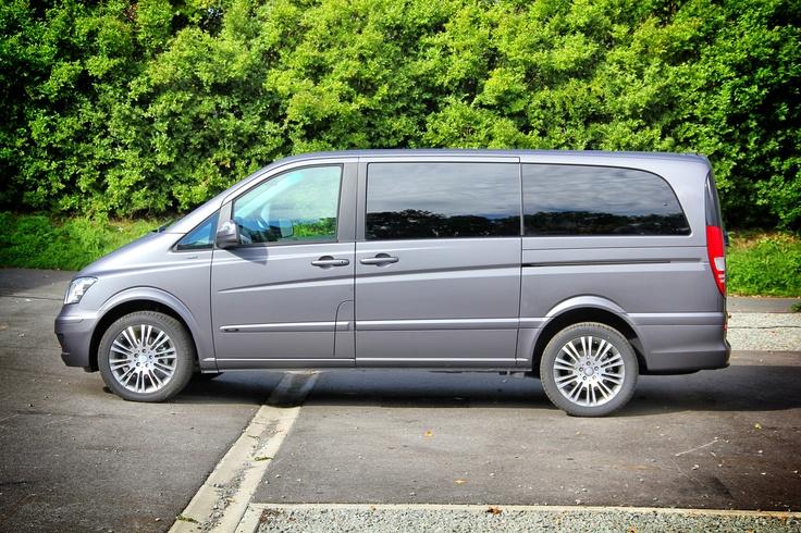 Mercedes Viano carwrap 3M Dark Matte Grey stickysigns