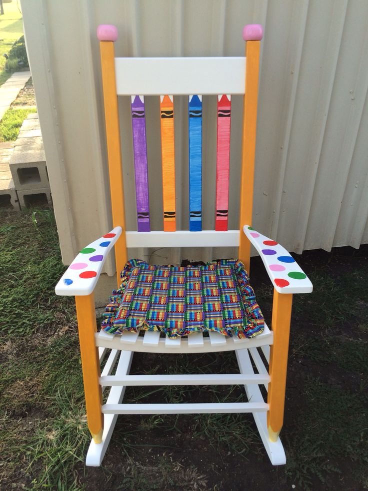 Classroom teacher chair painted teacher chair teacher