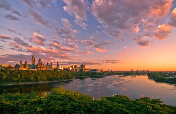 Parliament Hill in Ottawa, Canada
