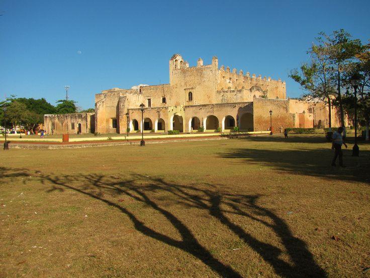 Convento de San Bernardino de Siena: Vallodid, Yucatan, founded in 1552, one of the great Franciscan monasteries in the Yucatan.