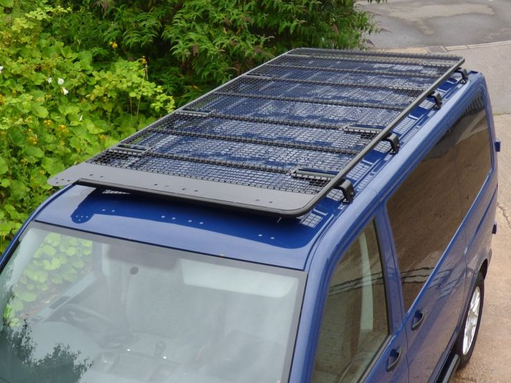 New In Stock Vw T5 Swb Black Powder Coated Steel Roof