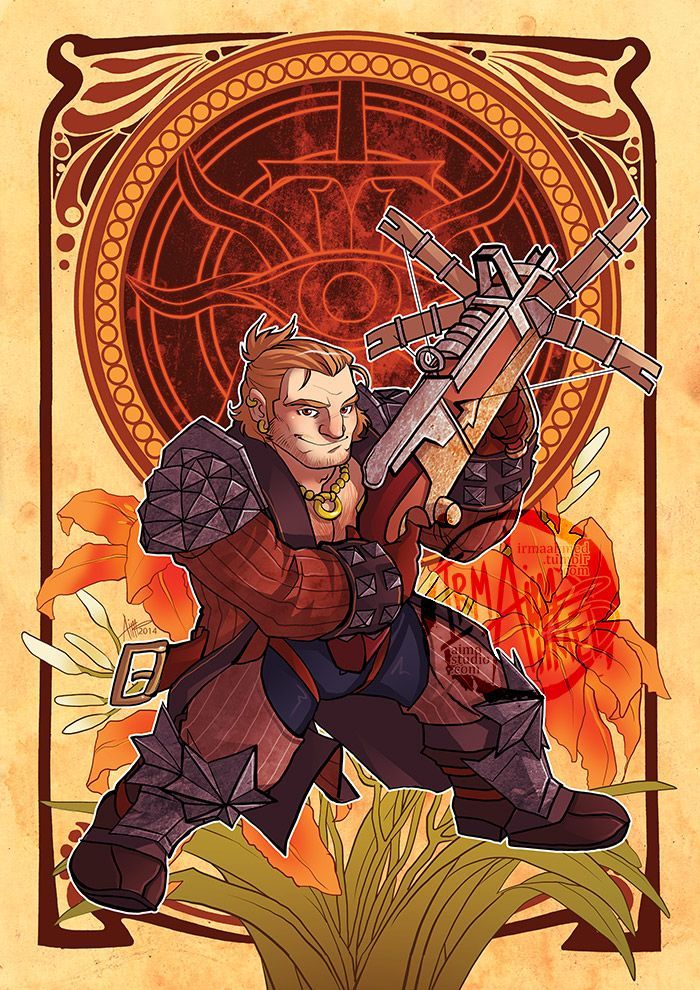 DAI - Decorative Heroes - Varric Tethras by aimo on DeviantArt
