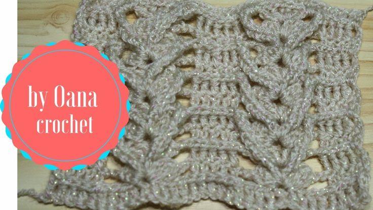 Crochet shell braid stitch-by Oana