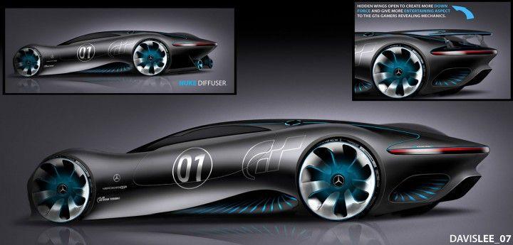 Huey Lee über den Mercedes-Benz AMG Vision Gran Turismo   – van