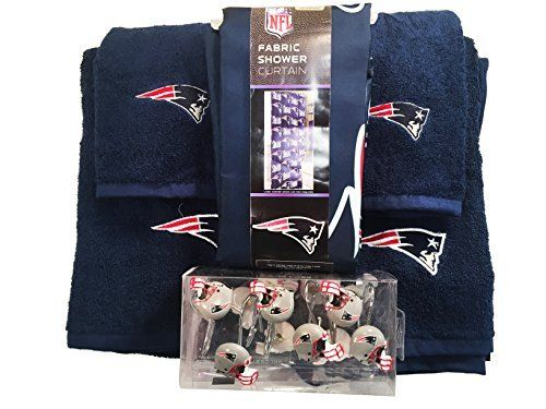 Gentil NFL New England Patriots Bathroom Accessories Set