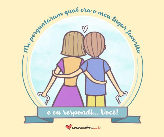 Frases de amor do Casamentos.com.br Descubra muito mais em www.casamentos.com.br