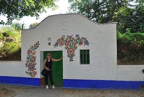 MORAVSKE ORNAMENTY   na závěr jeden výstavní vinný sklep s unikátním ornamentem i ...