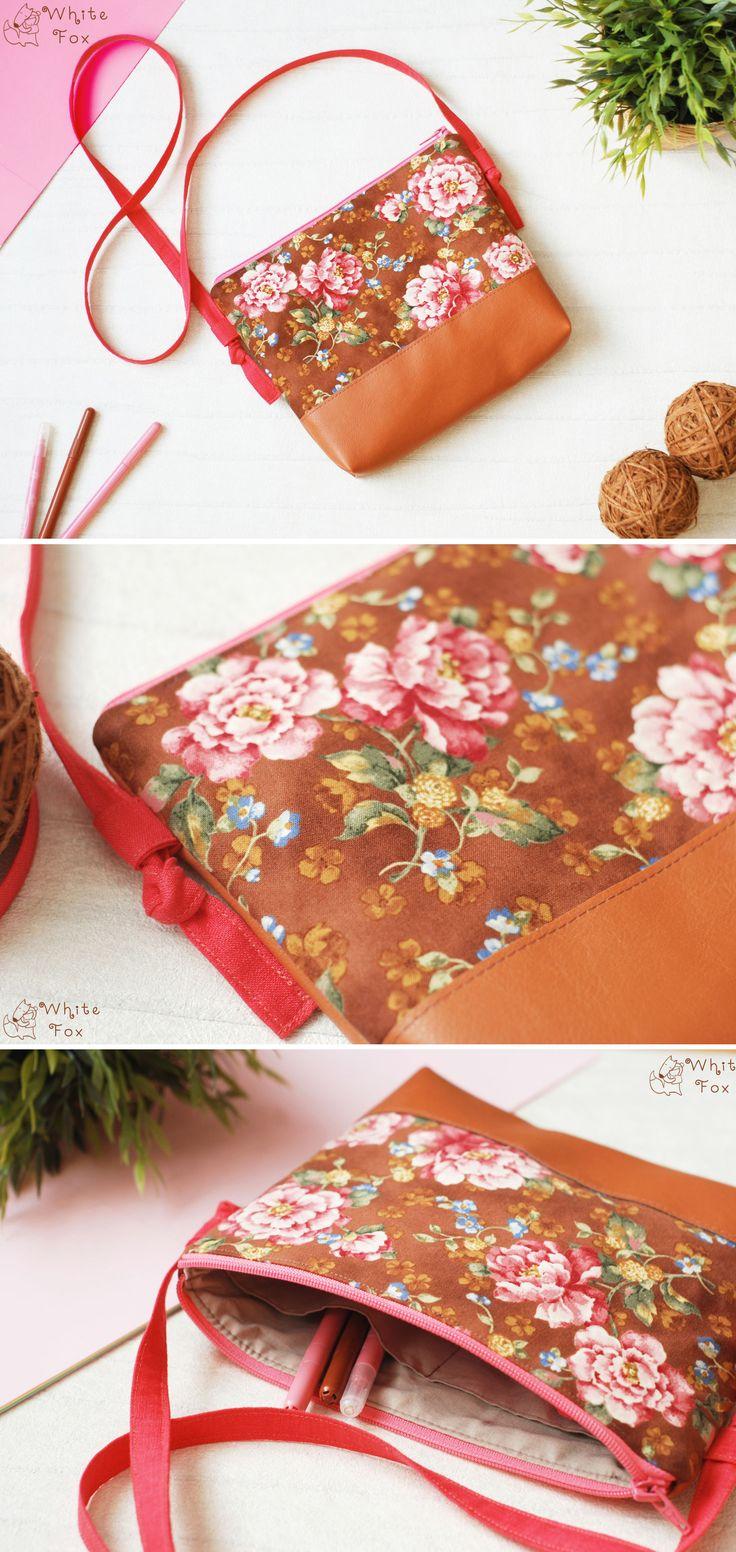 Eco Leather Bag | Сумка из эко-кожи и льна — Купить, заказать, сумка, кожа, эко-кожа, лен
