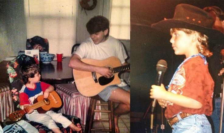 Thomas Rhett Was Once a Tiny Kid Singing Joe Diffie With His Dad