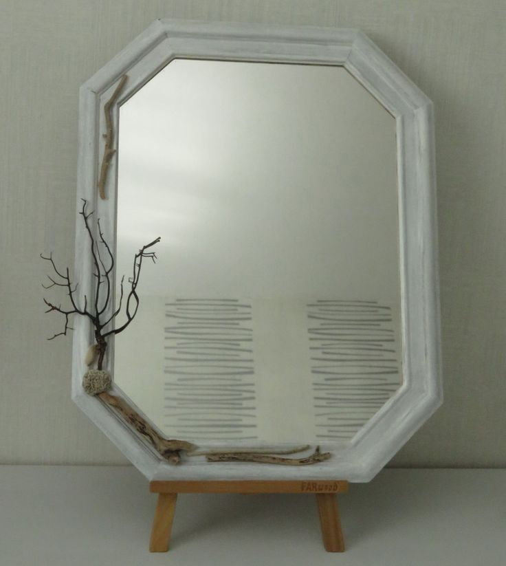 1000 id es sur le th me miroirs coquillage sur pinterest for Miroir galet