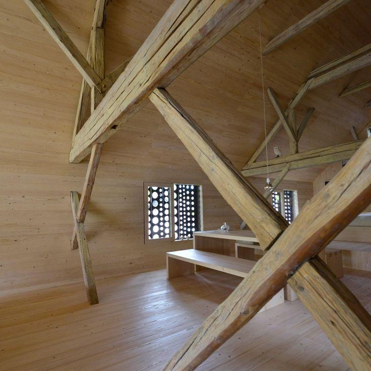 Alpine Barn Conversion by Ofis arhitekti14