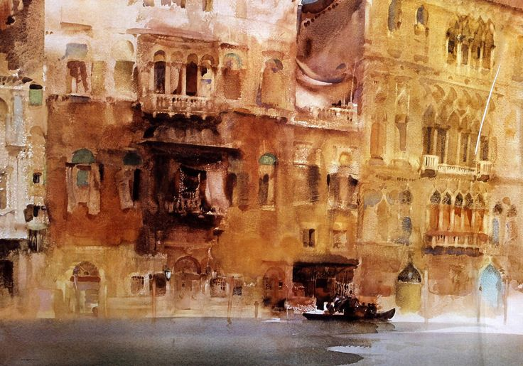 Venice by Sir William Russell Flint.