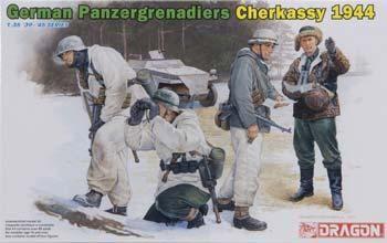 1/35 Panzergrenadiers Cherkassy '44 (4) (dml6490) DML Plastic Model Military Figures