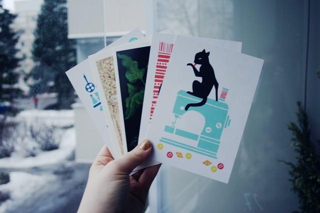matka maailmankaikkeuteen || http://loydankyllaperille.blogspot.com/|| some basic cards