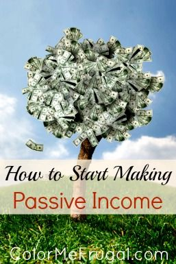 """What is passive income? How is it different than active income? What types of income could be classified as """"passive""""? Find out how to start making passive income!"""