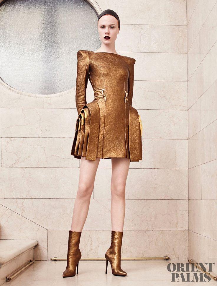 Ателиер Версаче [Atelier Versace] Осень-Зима 2017-2018 - От кутюр