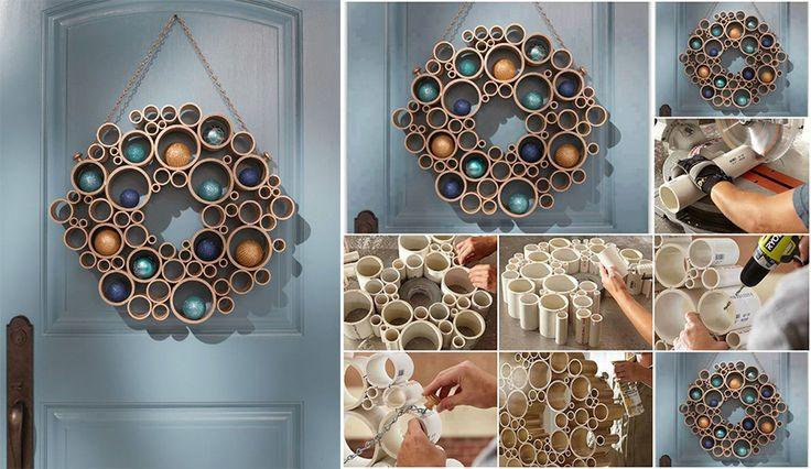 Поделки из труб своими руками: 15 DIY идей | HomeNiNo.ru - портал о дизайне интерьера