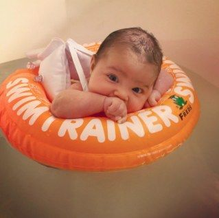 Bébé nageur !