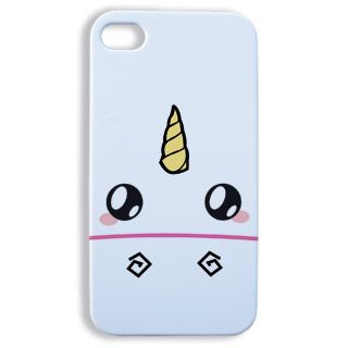 Coque Iphone 4 et 4s Face de licorne kawaii - Boutique www ...
