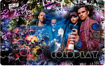 Coldplay.  Download today 3-9-12 for only 25 cents :)