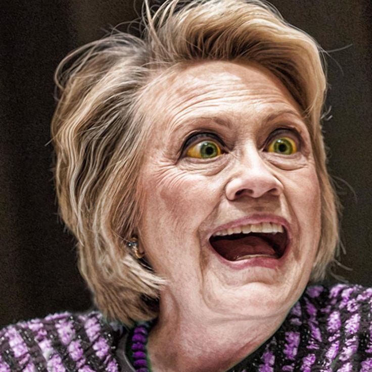 ❌❌❌ In den USA muss alles immer etwas besonders sein. Eine einfache Präsidentenwahl wäre viel zu langweilig. Leider bleiben die, wegen des Unterhaltungsfaktors aufgeblasenen Wahlen, nie ohne bösartige Folgen. Der Geltungsdrang der Präsidenten-Darsteller ist einfach ruinös, aber genau das scheint am Ende den Reiz auszumachen. Inzwischen scheint es ausgemachte Sache zu sein der/die nächste Präsident/in der USA muss eine Vagina haben. ❌❌❌ #Vagina #Clinton #Hillary #Wahlkampf #USA #Hölle…