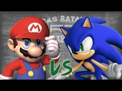 Mario vs Sonic. Épicas Batallas de Rap del Frikismo | Keyblade - YouTube