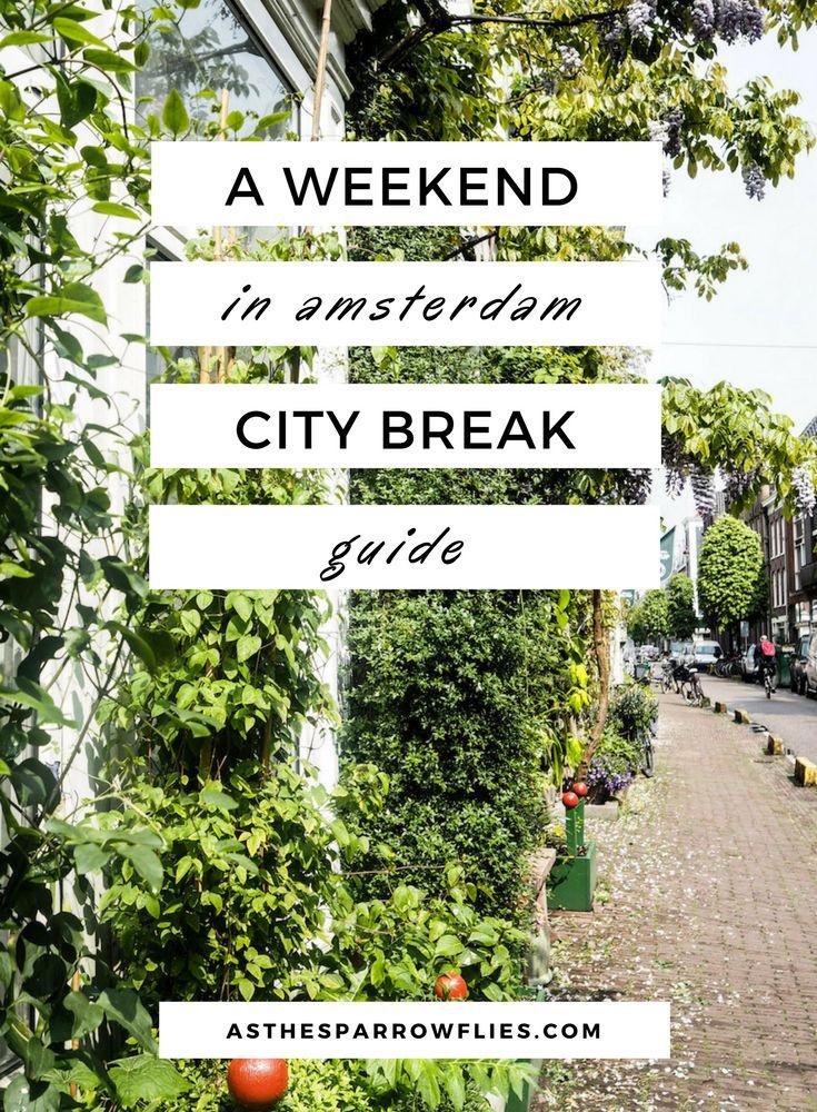 Amsterdam   City Break Guide   European Travel   The Netherlands Breaks