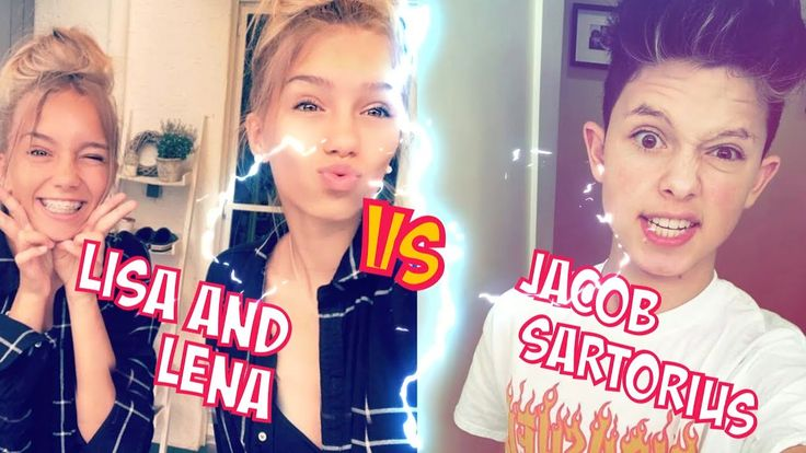 Lisa and Lena VS Jacob Sartorius l Battle Musers l Musical.ly Compilation